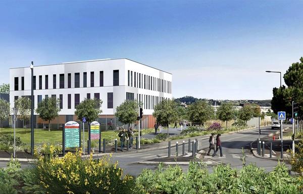 Héliopolis 3 - Marseille Lazard Group bureaux commerces