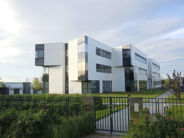 Les Allées du Parc - Lyon Lazard Group espace vert