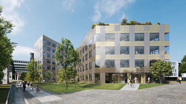 Zen 2 Lazard Group Immeuble R+3 avec attique