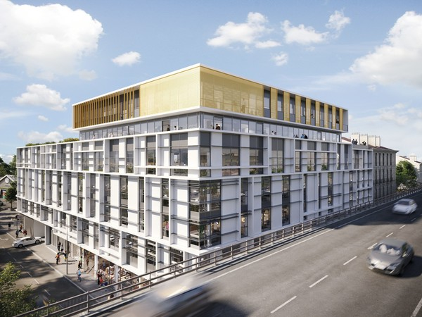 Phocéa Lazard Group centre ville Marseille - Vue viaduc d'Arenc Marseille