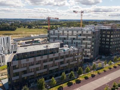 Zen Atalante - Rennes Atalante ViaSilva - travaux de facades | Lazard Group