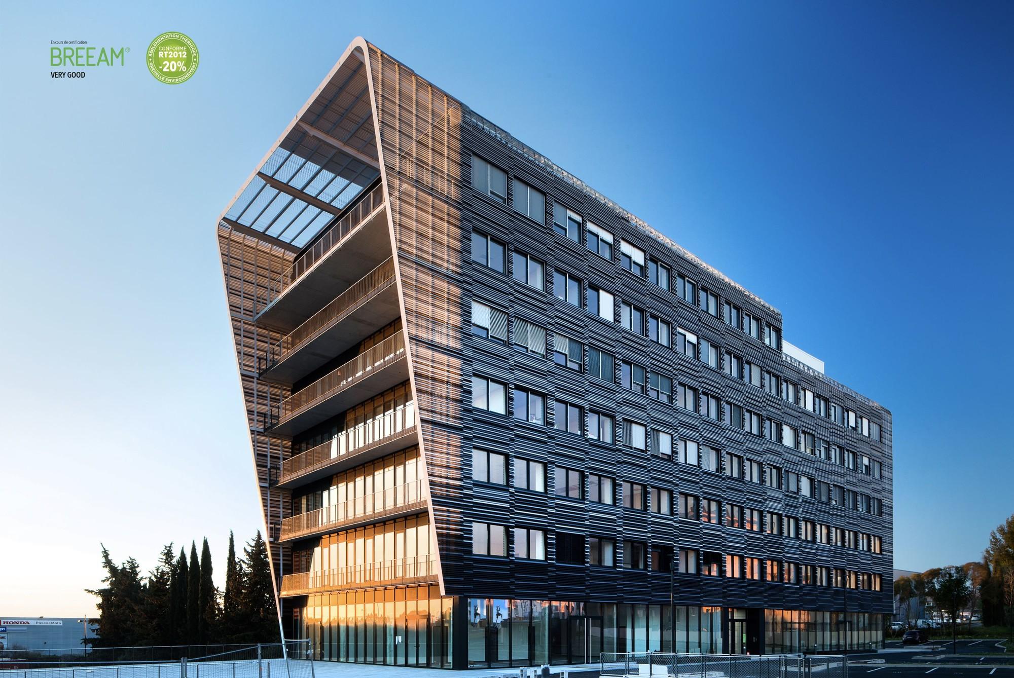 Immeubles de bureaux à Montpellier | Lazard Group Région Occitanie