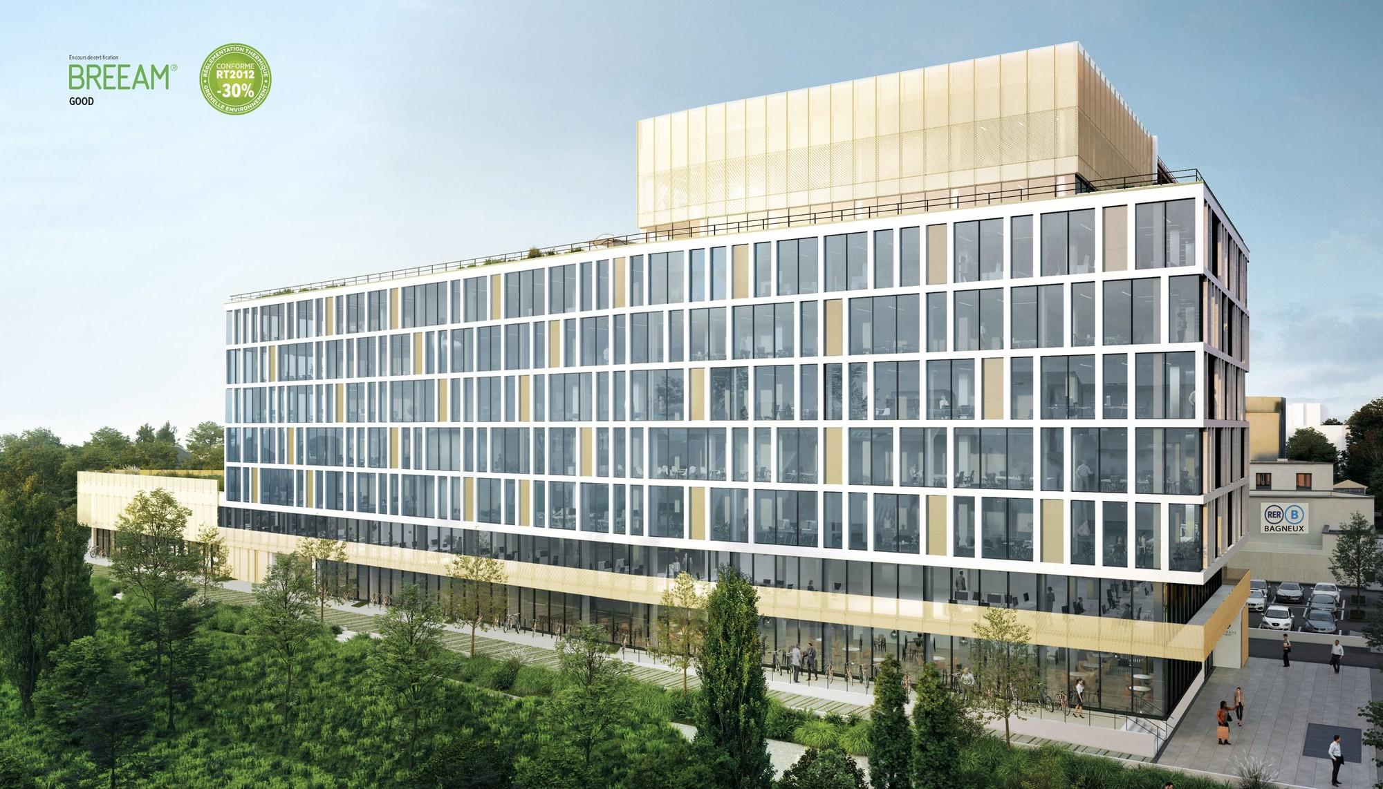 Arobase Cachan Lazard Group Bureaux d'entreprise Grand Paris