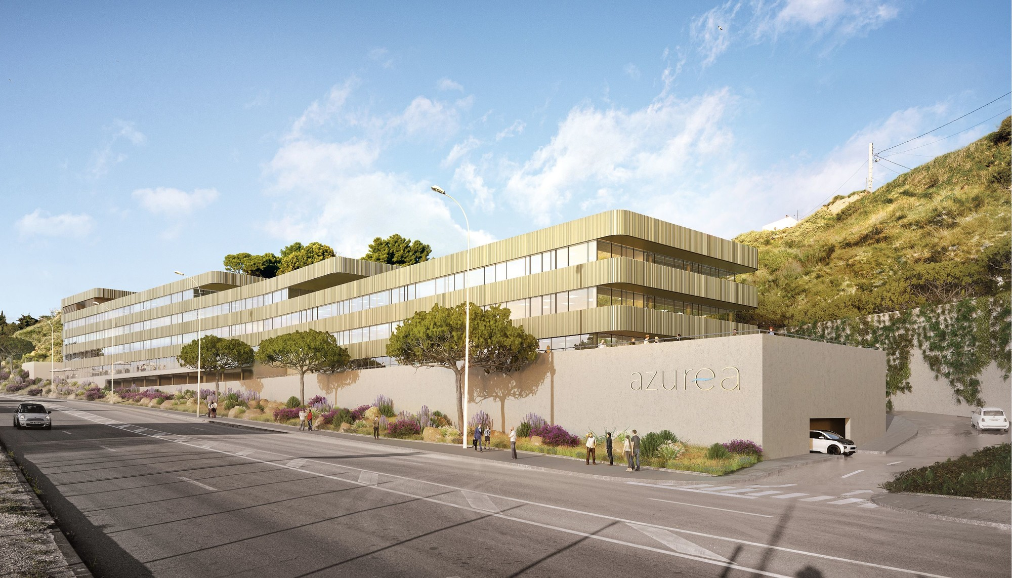 Azurea Marseille Lazard Group Immeuble de bureaux