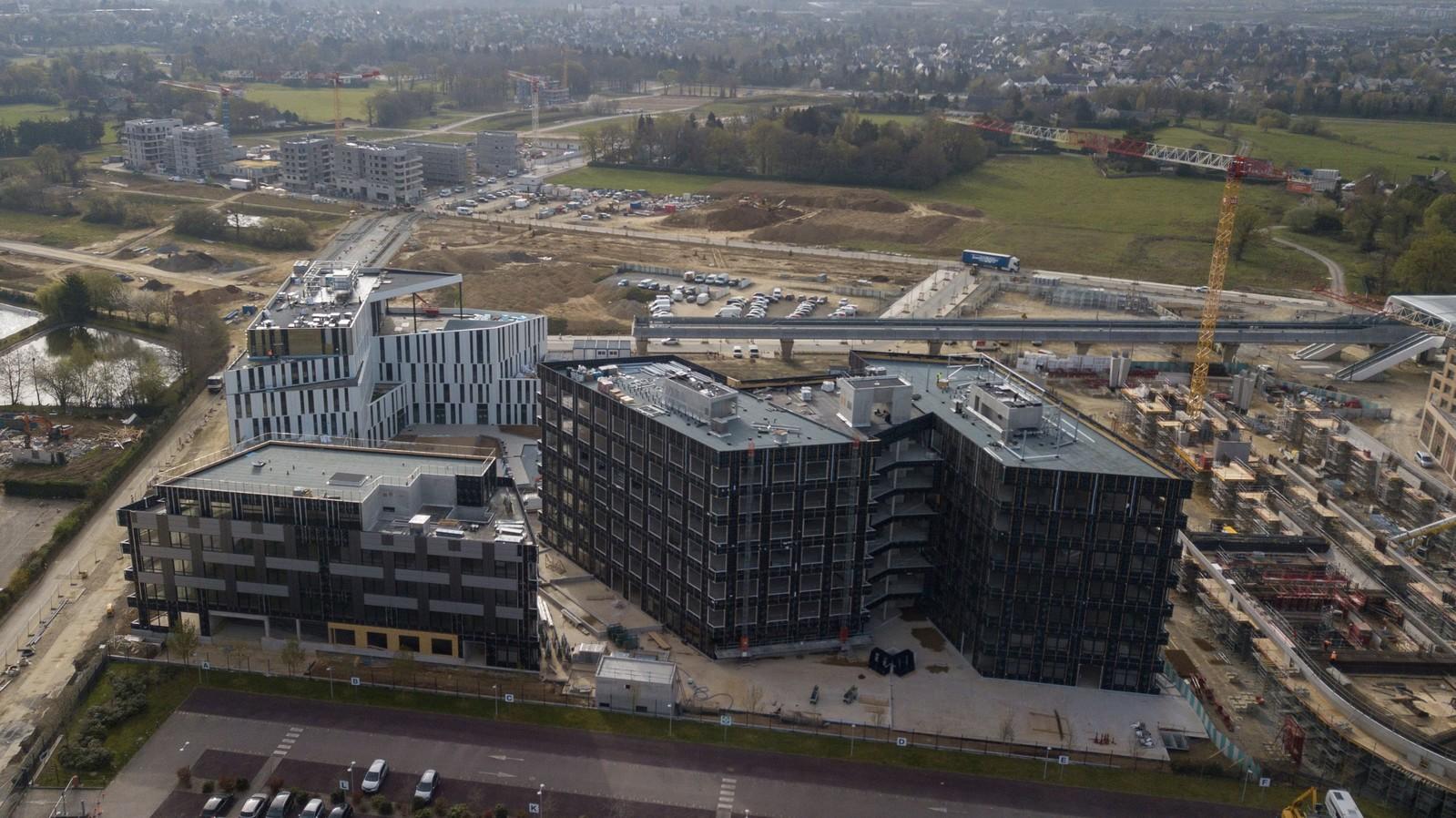 Zen Atalante - Rennes Atalante ViaSilva - immeuble gros œuvre | Lazard Group