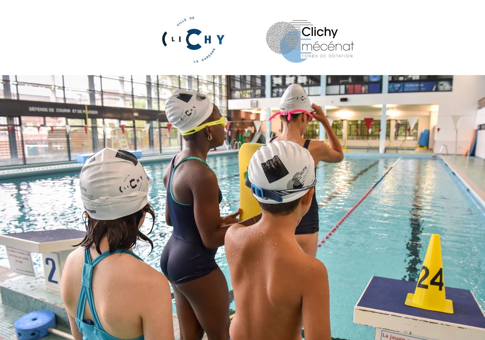 Apprendre à nager avec Camille Lacourt